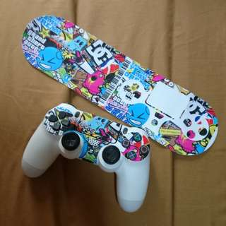 PS4 Dualshock 4 Sticker Bomb Decal