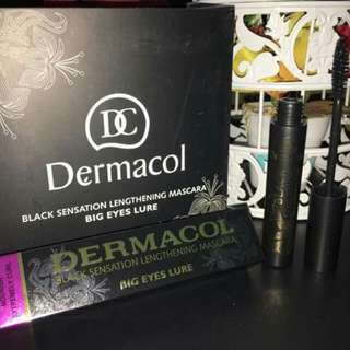 Dermacol Black Waterproof Mascara