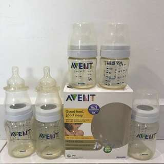 Avent milk bottle (5 bottles)