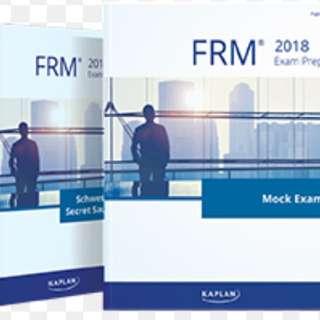 Schweser FRM notes 2018