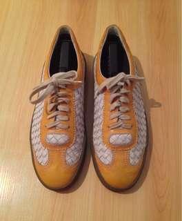 Bottega Veneta Woven Leather Sneakers