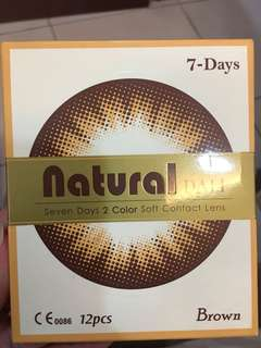 7 Days color contact lenses each pair