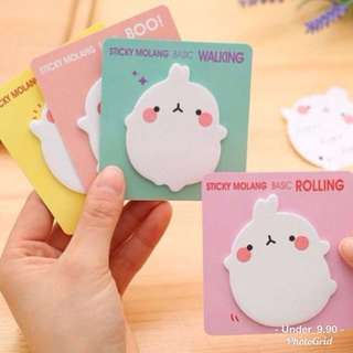 Molang sticky note / post it