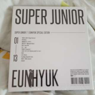 Last ONE SJ This Is Love Album (EunHyuk)