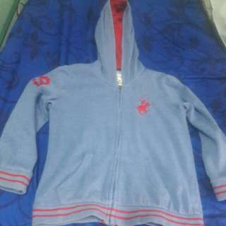 origunal Beverly Hills Polo Club jacket with hood size large