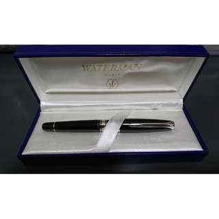 Waterman Charleston Ebony Black Rollerball Pen