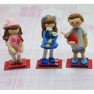 Customized Miniature Self Image Figurines