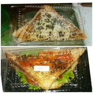 Sandwich & roti bakar