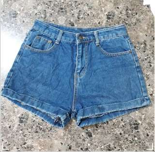 "SOFT DENIM SHORTS 27""-28"""