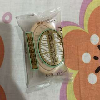 Loccitane almond delicious soap