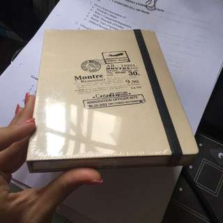 New: Note book
