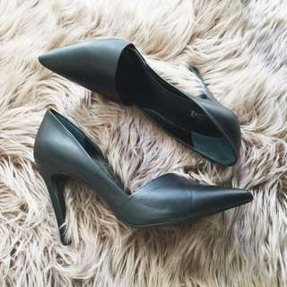 Wittner black heels size 37 - worn once great condition