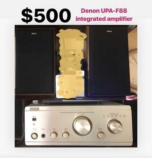 Denon UPA-F88 integrated amplifier