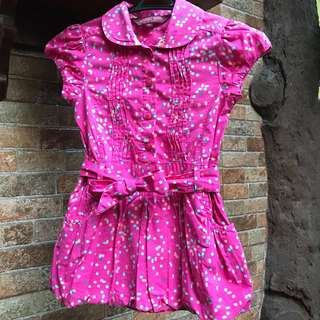 Pink Ted Baker Dress (2-3T)