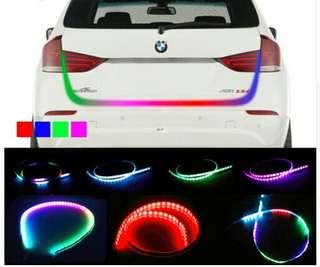 LED Trunk light RGB lampu belakang mobil
