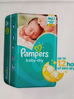 Pampers Baby Dry Diapers S,M,L,XL