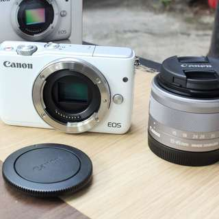 Kredit Canon EOS M10 Kit 15-45mm Dp ringan tanpa cc
