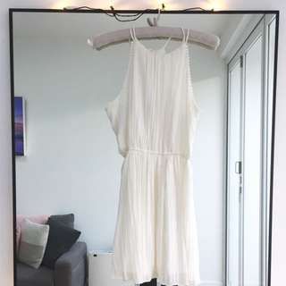 Abercrombie & Fitch white dress S worn once