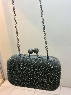 Beaded Party Sling Bag