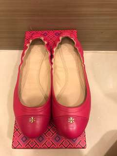 Authentic Tory Burch York ballet flats US6.5 shoes