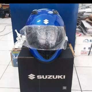 Helmet ori suzuki fullface