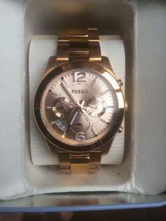 Fossil watch Rosegold