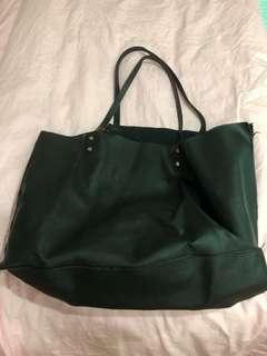 Zara black working bag