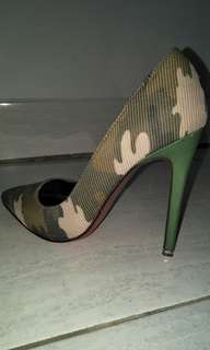 Army Stiletto High Heels