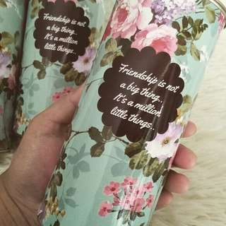 Customisable Canisters wedding favors / berkat / doorgift door gift