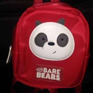 We bare bears backpack for children