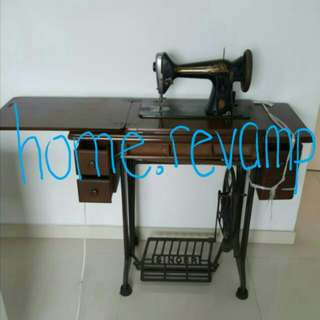 $300 Authentic Vintage SINGER Sewing Machine From 1950's