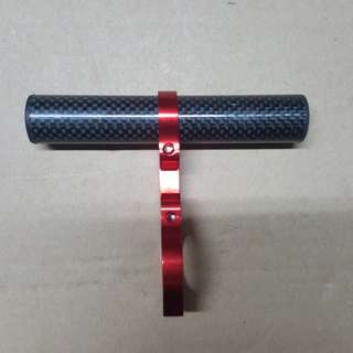 Carbon accessories handle