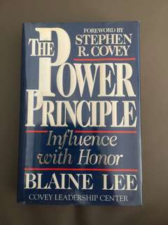The Power Principle  Influence with Honor By Blaine Kee