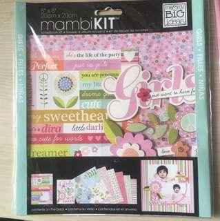 BN Scrapbook Kit - arrival of baby girl