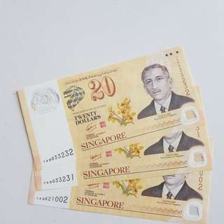 **FAST DEAL** $20 Singapore Dollar