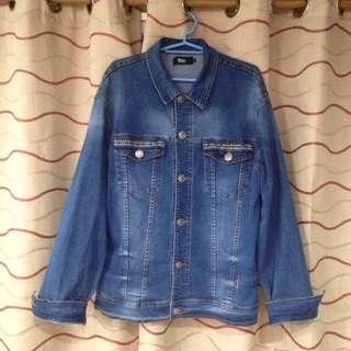 Mossimo Denim Jacket size Large
