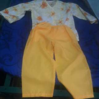 Filipiniana Costume boys size xs
