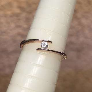 18kt MABELLE rose gold diamond ring