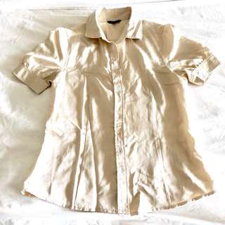 G2000 champagne blouse