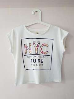 NYC Cropped Top
