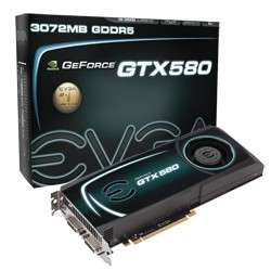 eVGA GTX 580 3GB