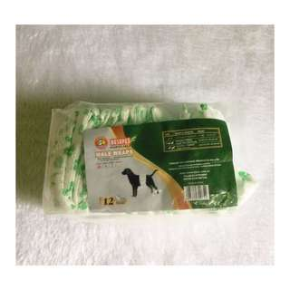 Pet Male Wrapp Diaper 12pcs Small