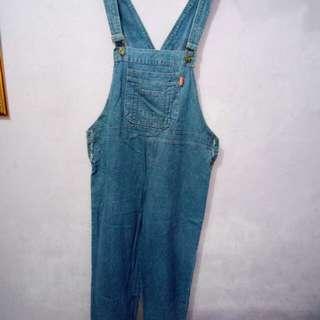 Baju kodok / overall celana