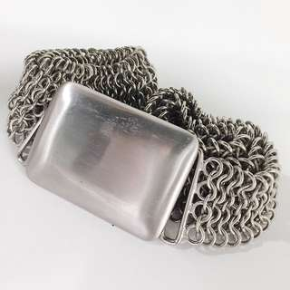 Mesh Metal Chain belt