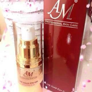 AM professional 24k gold eye gel