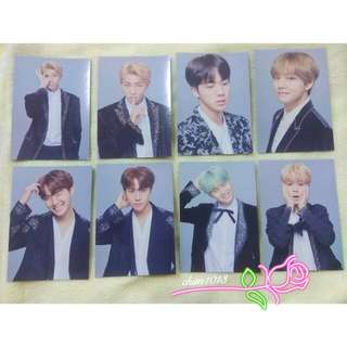 BTS WINGS TOUR FINAL CONCERT MINI PHOTOCARD