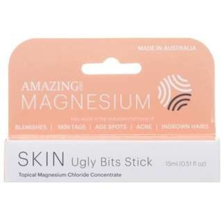 Amazing Oils Magnesium Ugly Bits Stick Organic Australian skin tags sun spots blemishes