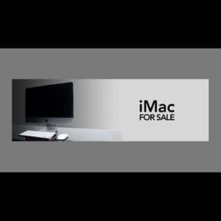 iMac tahun 2012. Still great cond