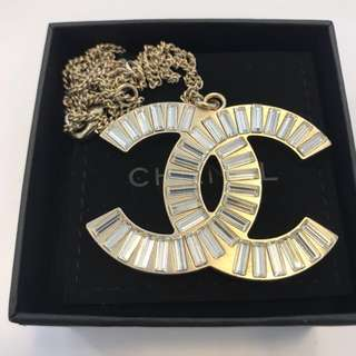 Chanel Necklace - Giant double C
