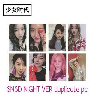 528 SNSD NIGHT VER DUPLICATE PC